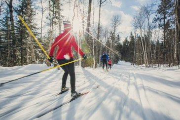 Canada -one of the world leaders in cross country skiing